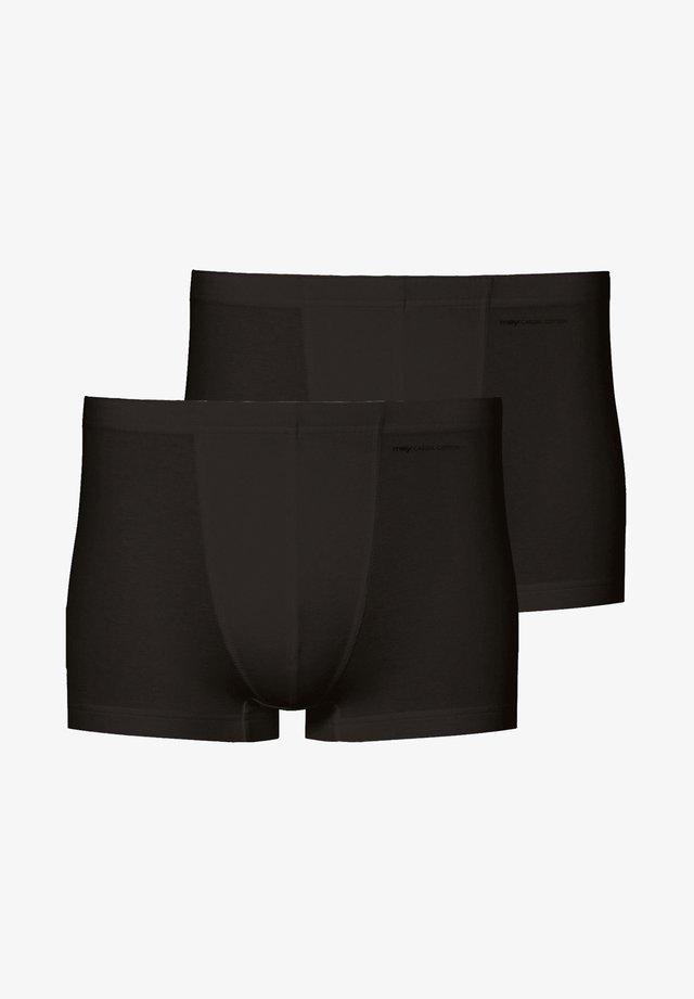 2ER PACK CASUAL - Onderbroeken - schwarz