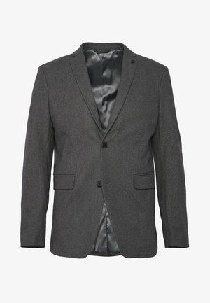 BRUSHED H-TOOTH - Marynarka - dark grey