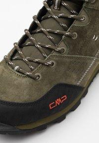 CMP - ALCOR MID TREKKING SHOE WP - Hikingsko - oil green - 5