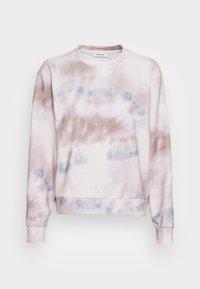 HOLLY PRINT SWEAT - Sweatshirt - sage tie dye