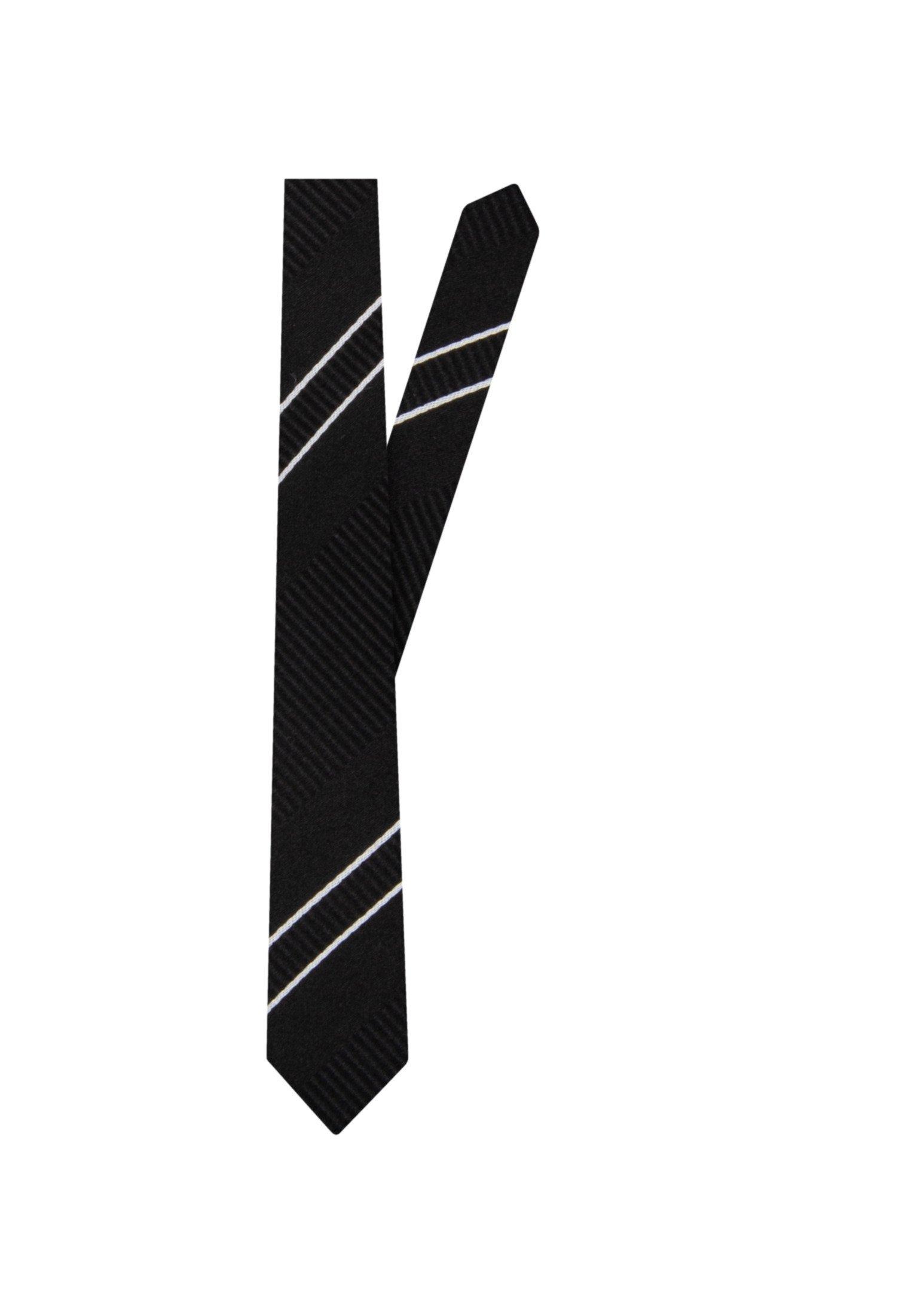 Seidensticker SLIM - Krawatte - schwarz - Herrenaccessoires BXYgP