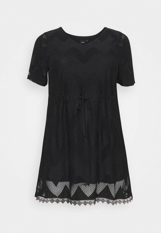 MALEXANDRA TUNIC - Blouse - black