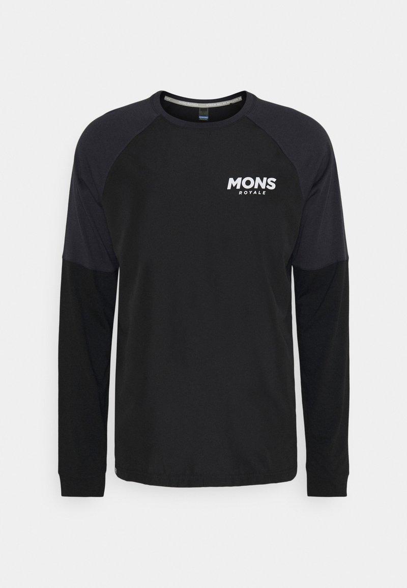 Mons Royale - TARN FREERIDE WIND - Longsleeve - black