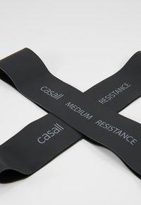 Casall - BAND MEDIUM 2 PACK - Fitness/yoga - black - 2