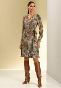 Alba Moda - Day dress - camel beige schwarz - 4