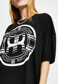 River Island - Print T-shirt - black - 3