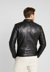 Strellson - DERRY - Leather jacket - black - 2