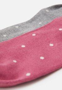 Thought - EUDORA SOCKS 2 PACK - Socks - dark rose pink/grey marl - 1