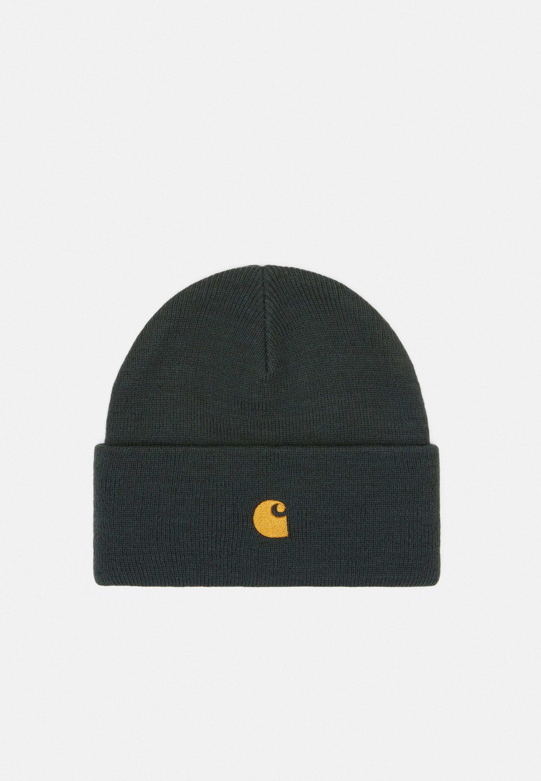 Carhartt Wip Chase Beanie - Mütze Black/gold/schwarz