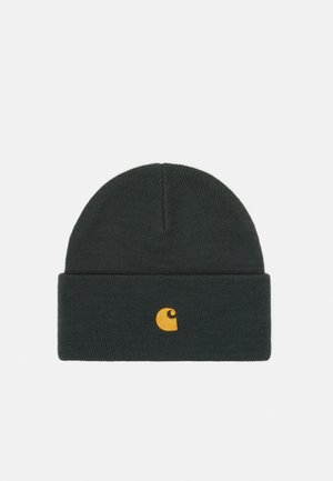 CHASE BEANIE - Bonnet - dark teal/gold