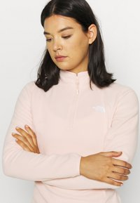 The North Face - WOMENS GLACIER ZIP - Fleecepullover - morning pink - 4