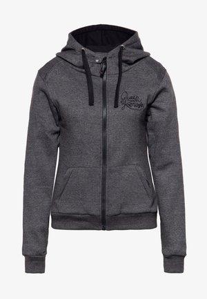 RACING SKULL - Zip-up sweatshirt - grau