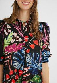 Desigual - Button-down blouse - black - 3