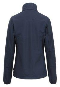 Whistler - Covina MIT WASSERDICHTER ZWISCHENMEMBRAN - Soft shell jacket - navy - 8