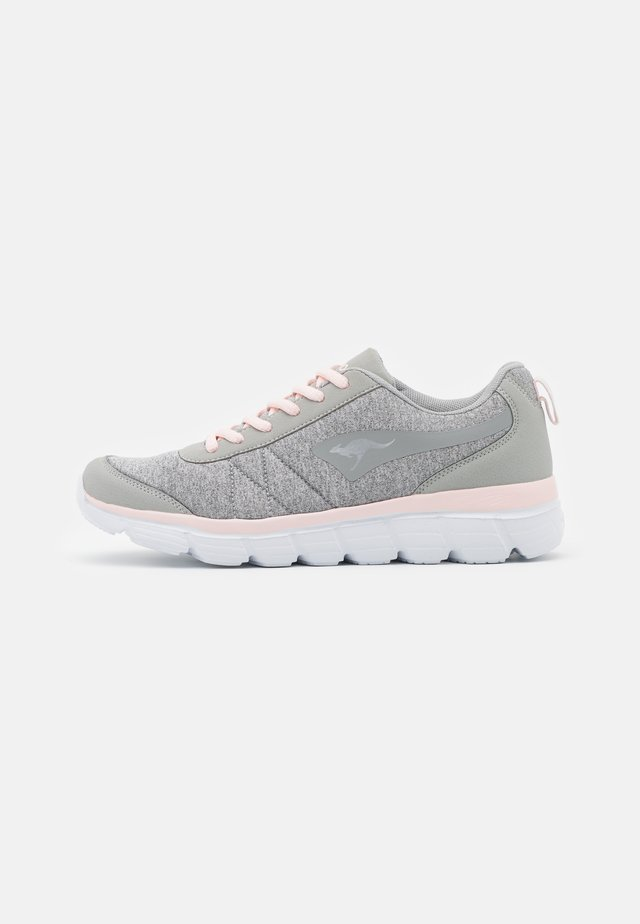 Trainers - vapor grey/frost pink