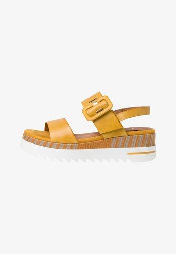 BY GUIDO MARIA KRETSCHMER - Platform sandals - saffron antic