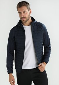 Jack & Jones - JCOMULTI QUILTED JACKET - Outdoorjacke - dark blue - 0
