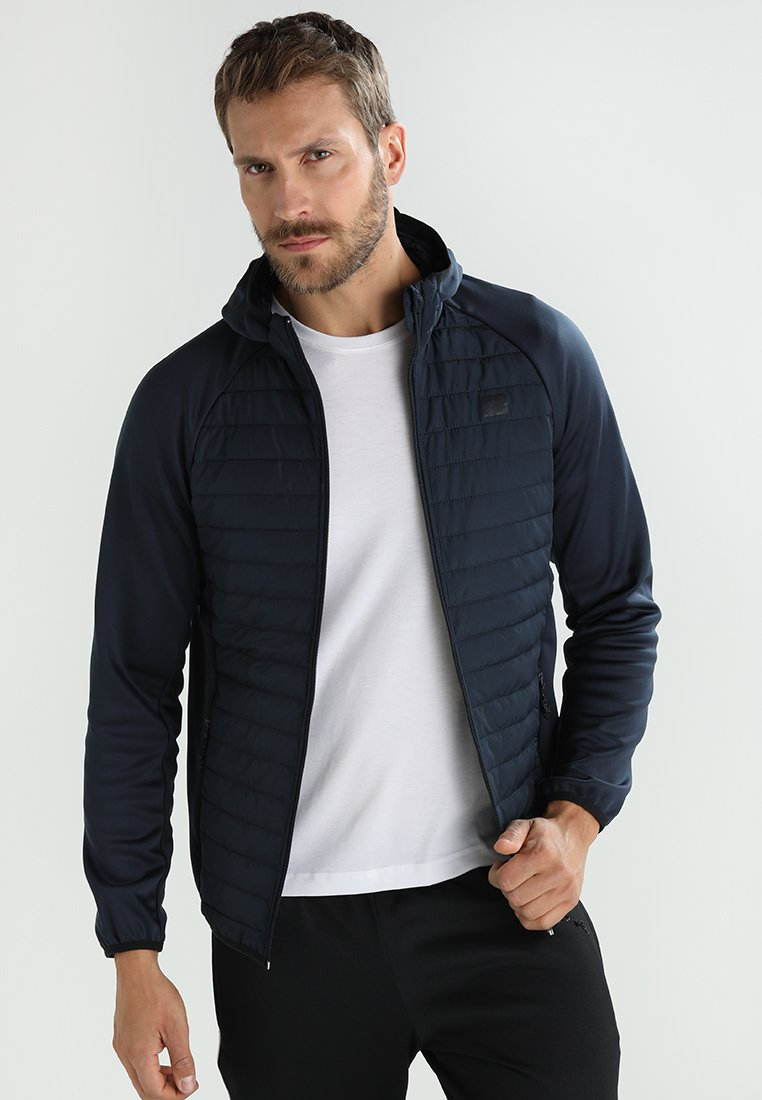 Jack & Jones - JCOMULTI QUILTED JACKET - Outdoorjacke - dark blue