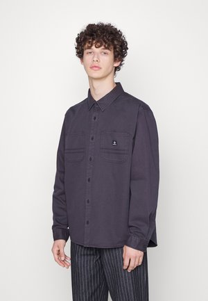 LONG SLEEVE BUTTON DOWN - Shirt - washed black