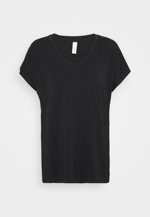 MARICA - Jednoduché triko - schwarz