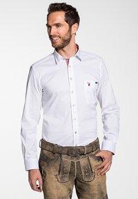 Spieth & Wensky - ASKOT SLIM FIT - Shirt - rot - 0