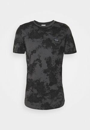 JCOLANDON TEE CREW NECK - T-shirt print - asphalt