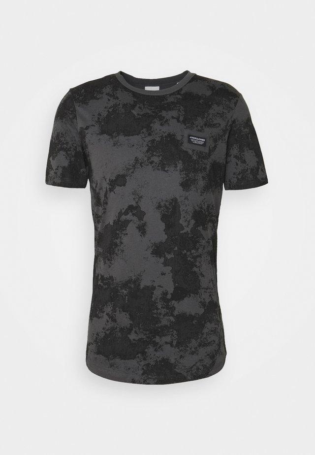 JCOLANDON TEE CREW NECK - T-shirt imprimé - asphalt