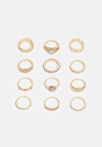 FGELLA 12 PACK - Ring - gold-coloured