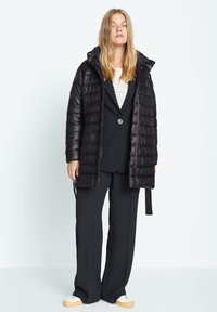 Violeta by Mango - SELLER7 - Down coat - schwarz - 1