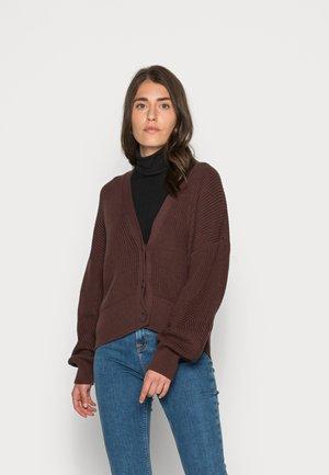 Kardigan - rust brown