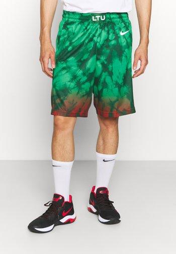 LIT SHORT - Sports shorts - gorge green/white