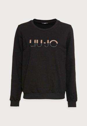 FELPA CHIUSA - Sweatshirt - nero liujo sequins