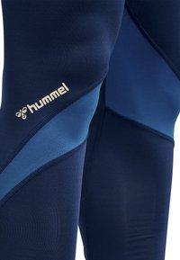 Hummel - HMLALONZO  - Leggings - medieval blue - 4