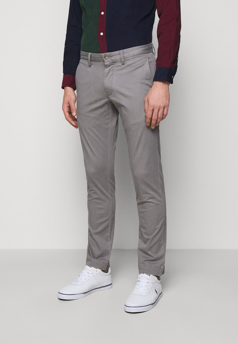 Polo Ralph Lauren - STRETCH SLIM FIT CHINO PANT - Chinos - perfect grey