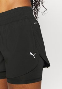 Puma - RUN FAVORITE - Sports shorts - black - 3