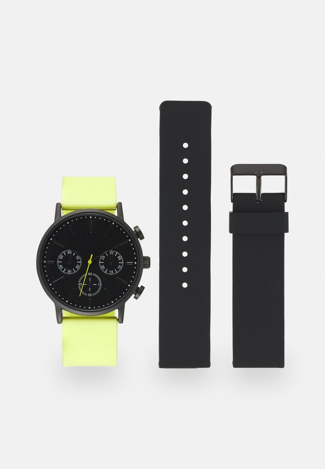 SET - Reloj - black/green