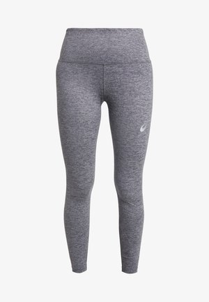 HIGH WAIST - Punčochy - mid grey heather/dark grey heather