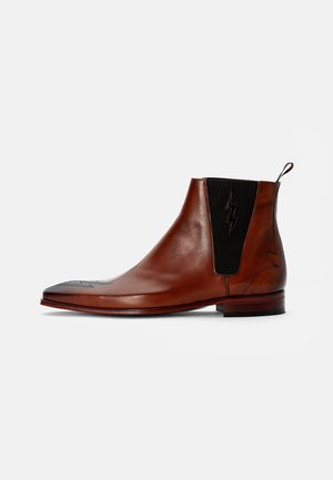 SCARFACE LIGHTNING TOE CHELSEA - Classic ankle boots - toledo cabiano brown