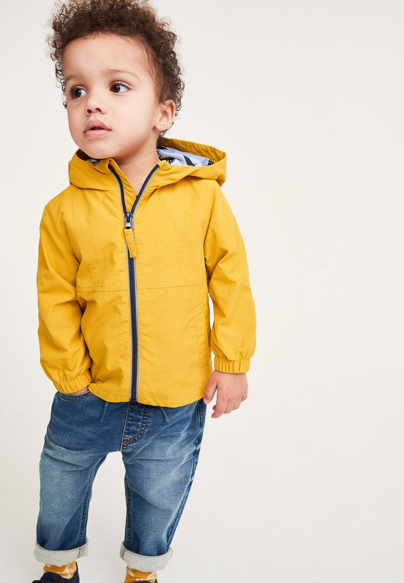 Next - Light jacket - yellow
