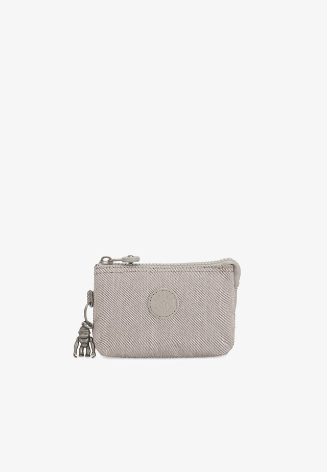 CREATIVITY S - Portemonnee - grey beige pep