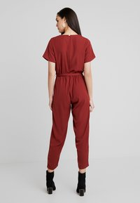 Even&Odd - Tuta jumpsuit - dark red - 2