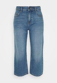 Noisy May Petite - NMAMANDA WIDE ANKLE  - Jeans baggy - medium blue - 0