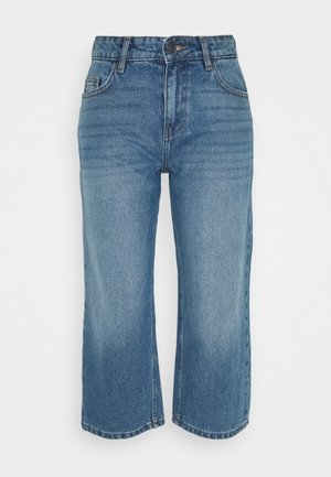 NMAMANDA WIDE ANKLE  - Jeans relaxed fit - medium blue