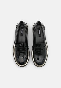 DKNY - ALZ LOAFER LUG - Slippers - black - 4