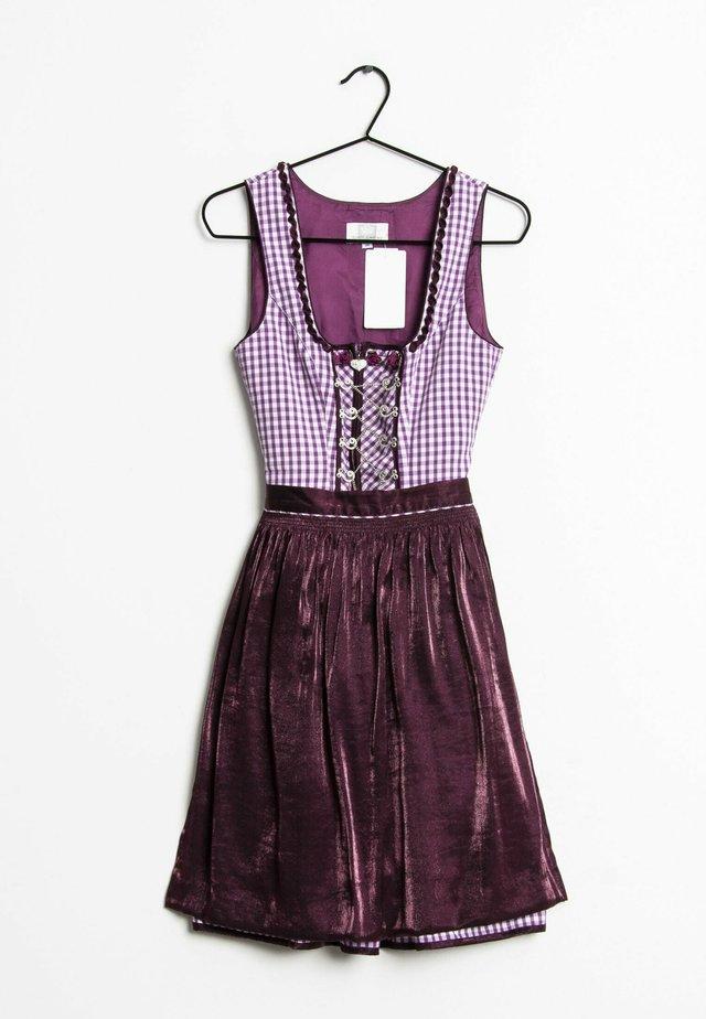 Dirndl - purple