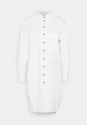 VIVIAN MIDI - Robe chemise - white