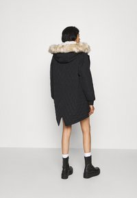 ONLY - ONLSELINE QUILTED - Parka - black - 2