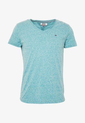 VNECK TEE - Basic T-shirt - exotic teal