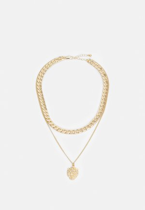 PCPAWA COMBI NECKLACE - Necklace - gold-coloured