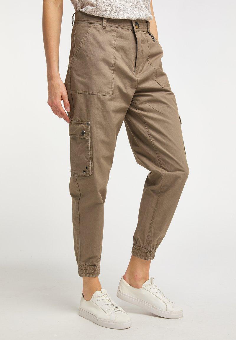 DreiMaster - Trousers - brown